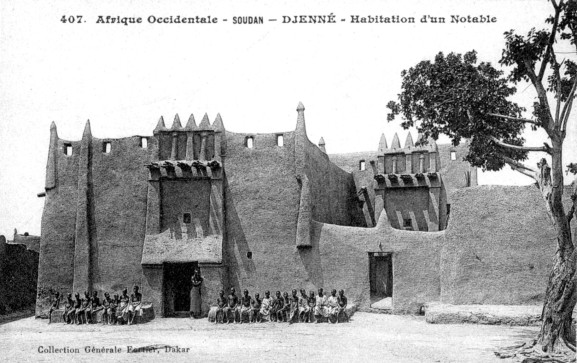 maison notable djenné Mali