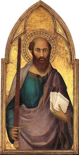 Saint Paul by Lippo Memmi 1350