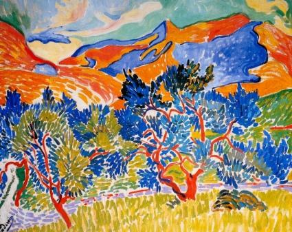 paysage de collioure 1905 derain