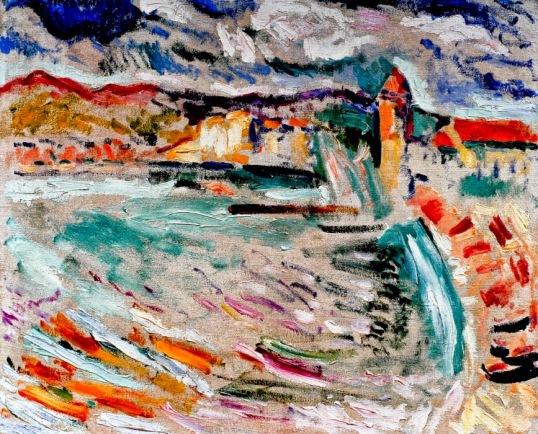 Vue de Collioure la Jetée Henri Matisse 1905