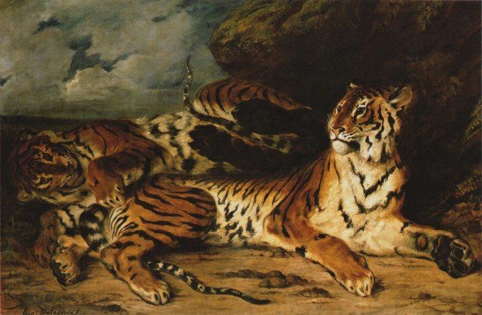 delacroix tigre